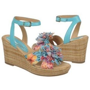 Naturalizer Bromstead Neila wedge sandals 8.5W